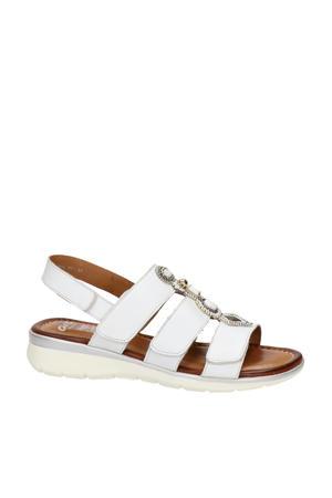 Kreta  leren sandalen wit