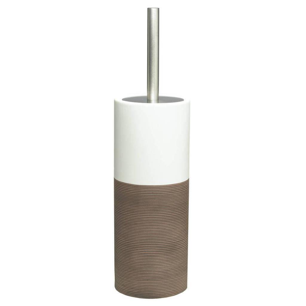 Sealskin toiletborstel Doppio, Bruin