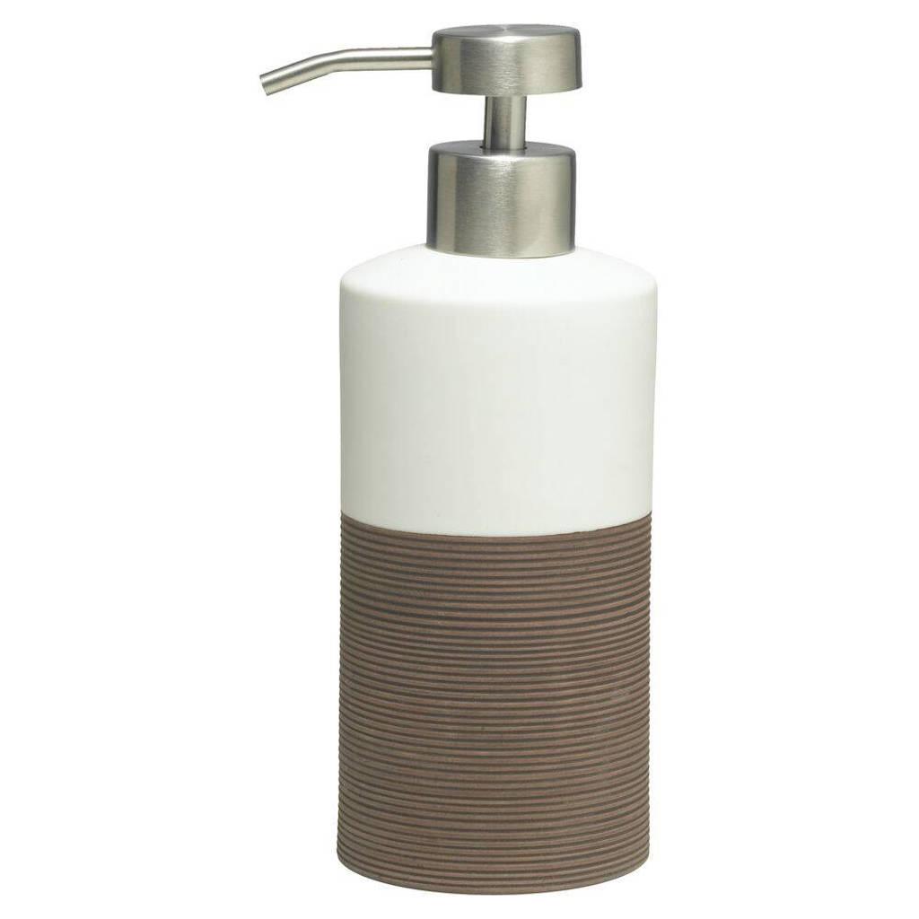 Sealskin zeepdispenser Doppio (x18 cm), Bruin