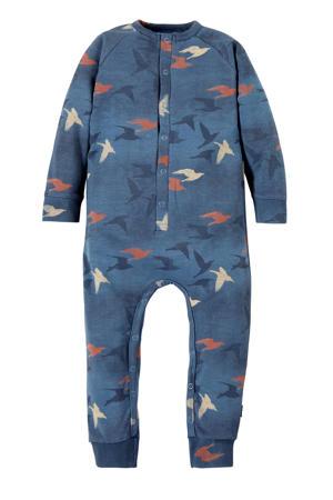 baby boxpak Redouan met all over print donkerblauw