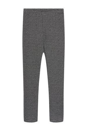 gestreepte legging LPSHINA zwart/wit