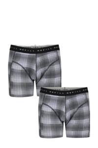 Shoeby Refill boxershort (set van 2), Zwart