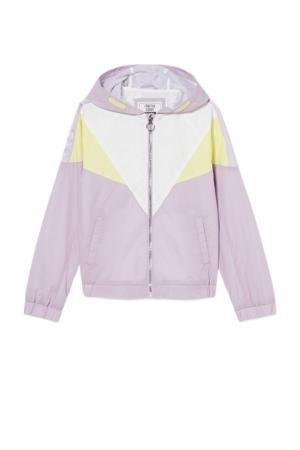 zomerjas lila/geel/wit