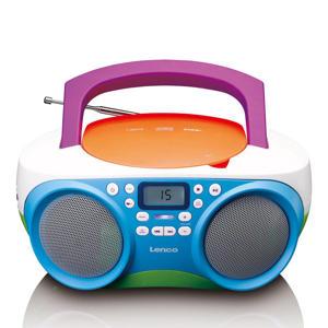 Draagbare FM Radio - CD/USB-speler - Multi colour