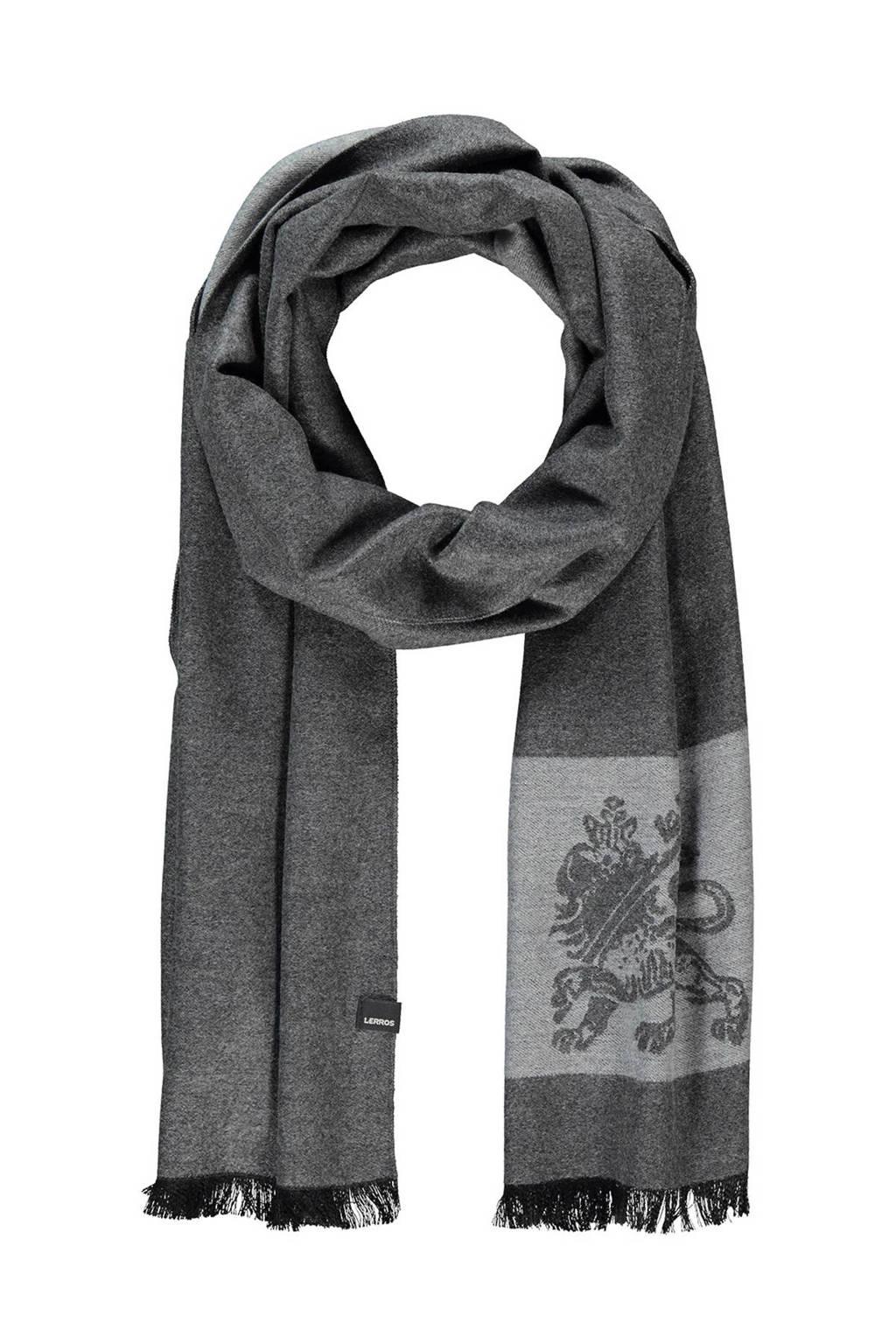 LERROS sjaal grijs, Grijs