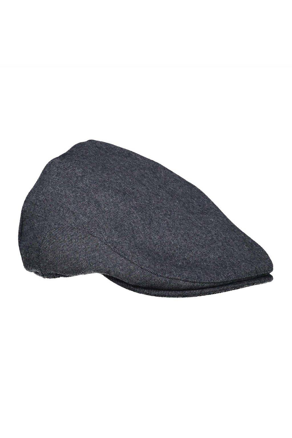 LERROS flatcap donkerblauw, Donkerblauw