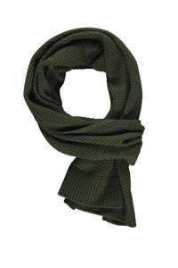 LERROS sjaal donkergroen, Donkergroen
