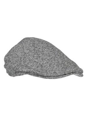 flatcap grijs melange