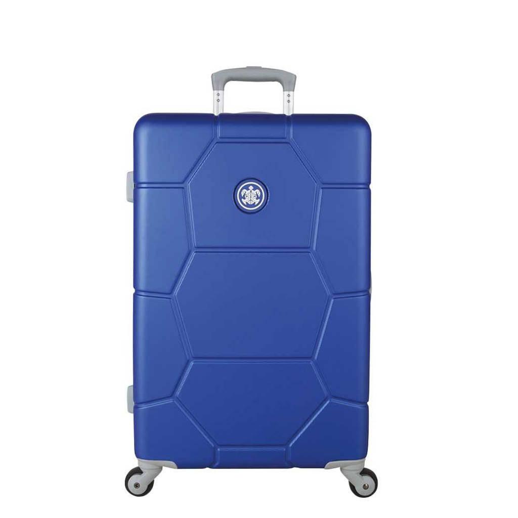 Suitsuit  trolley Caretta Evergreen 65 cm. blauw, Blauw