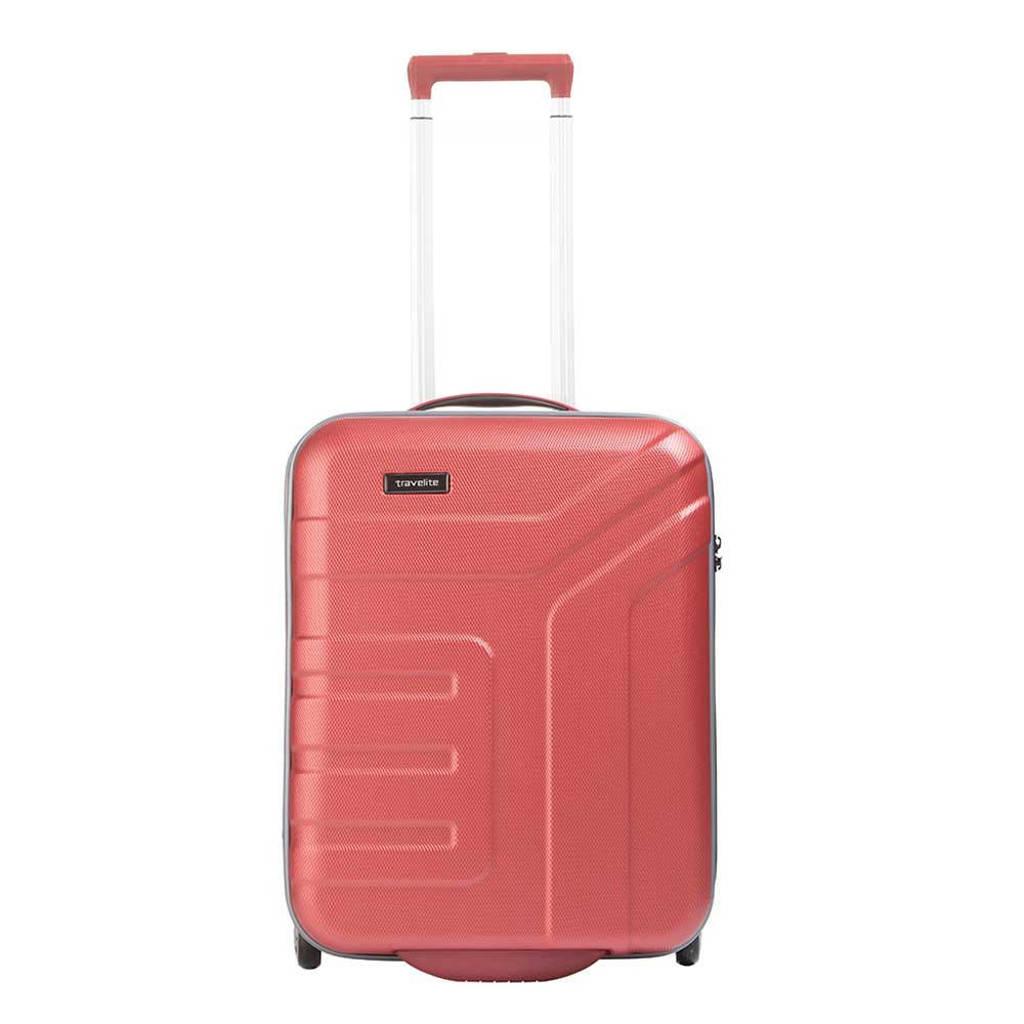 Travelite  trolley Vector S 55 cm. oranje, Oranje