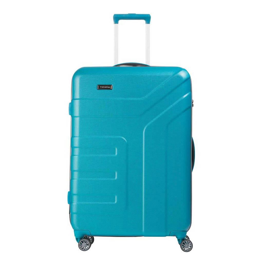 Travelite  trolley Vector L 77 cm. blauw, Blauw