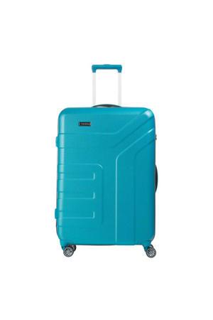 trolley Vector L 77 cm. blauw