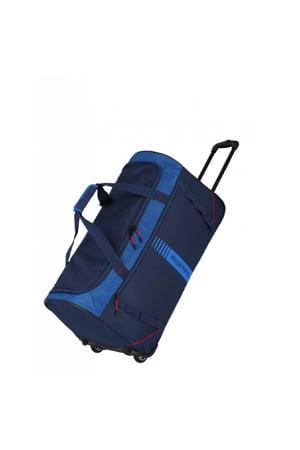 reistas Basics Wheeled Duffle Active donkerblauw