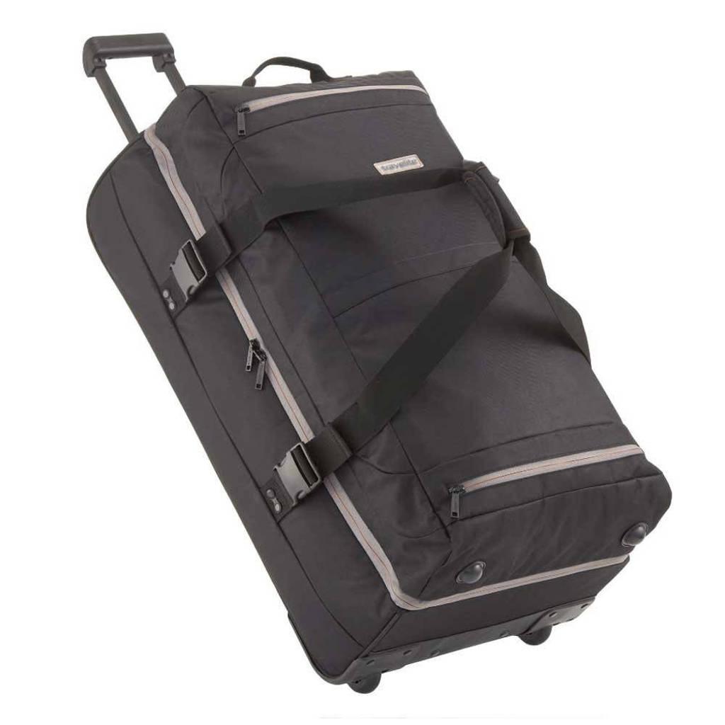 Travelite  reistas Basics Dubbeldekker 78 cm. zwart, Zwart