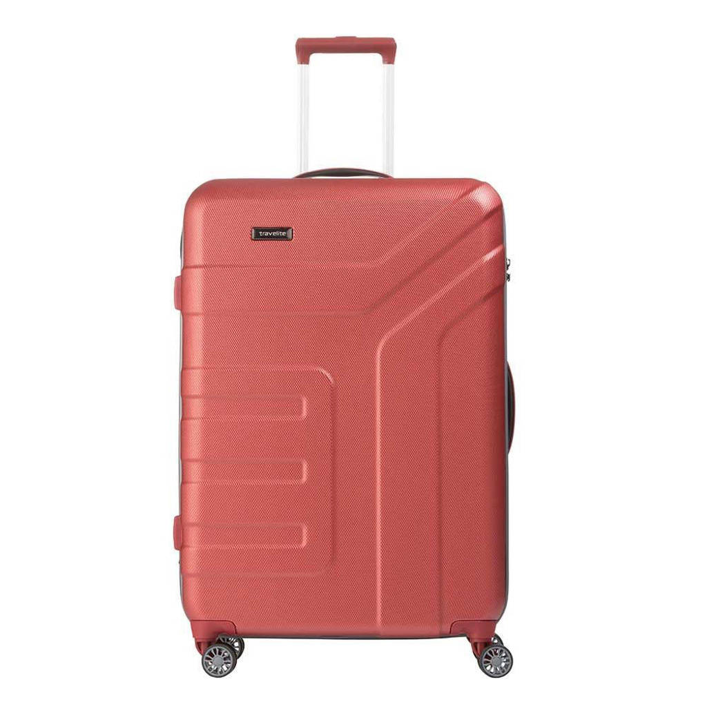 Travelite  trolley Vector L 77 cm. oranje, Oranje