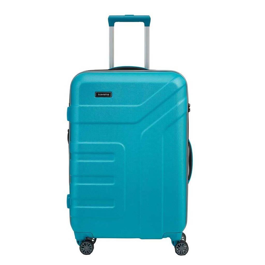 Travelite  trolley Vector M 70 cm. blauw, Blauw