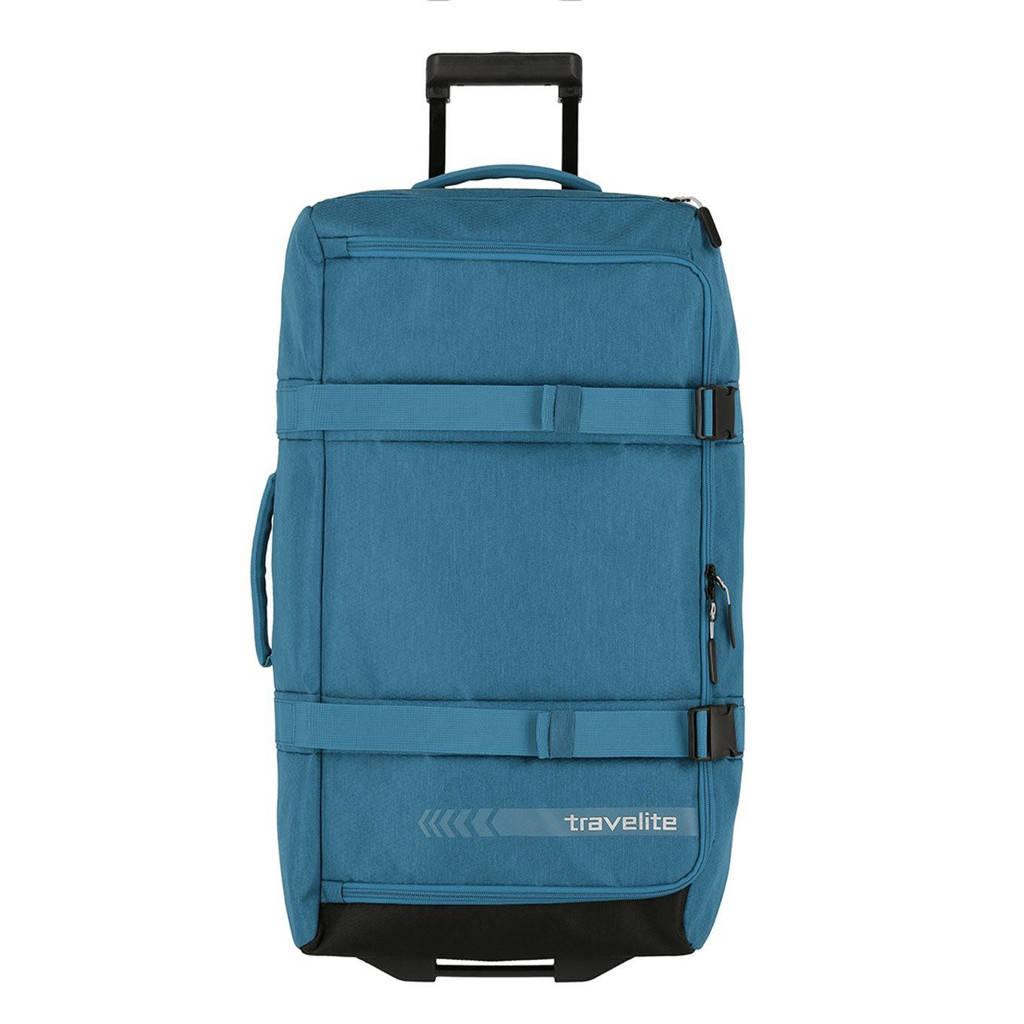 Travelite  reistas Kick Off Wheeled Duffle L blauw, Blauw