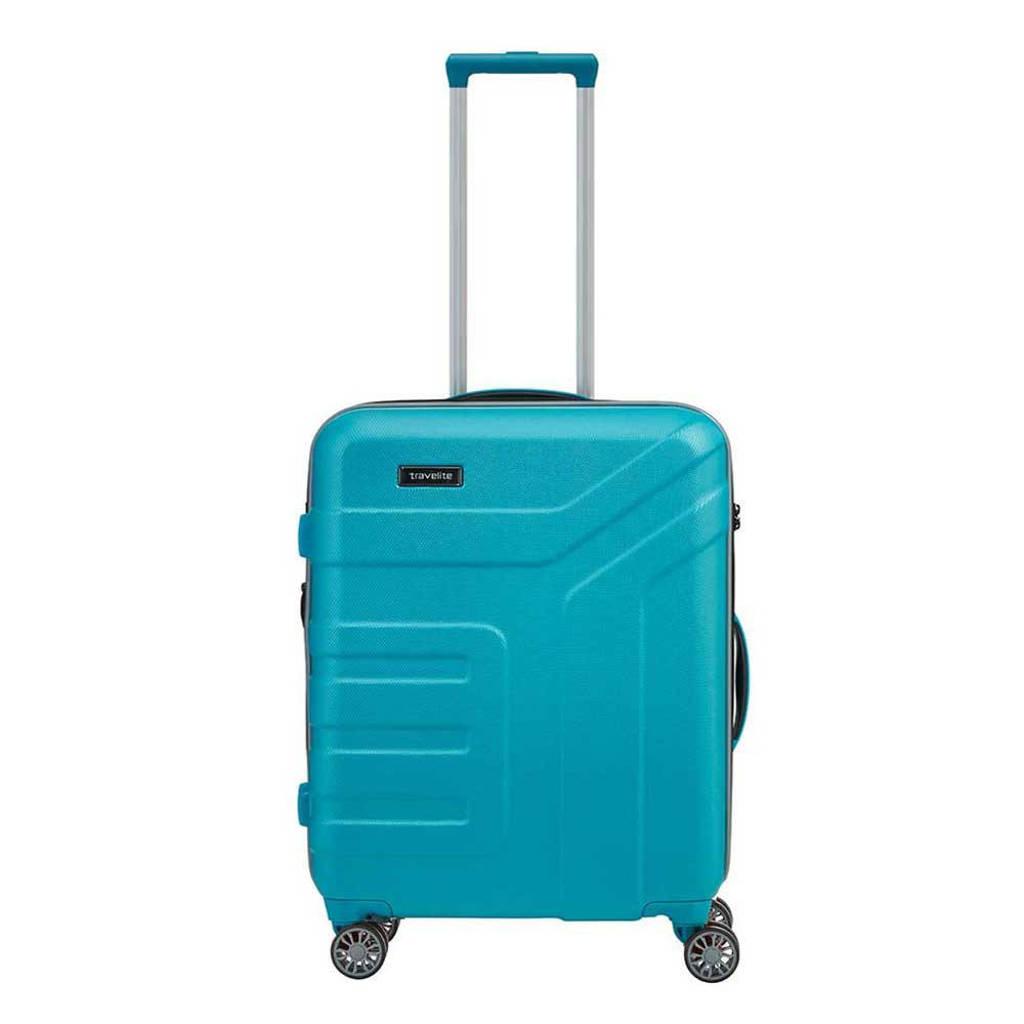 Travelite  trolley Vector S Spinner 55 cm. blauw, Blauw