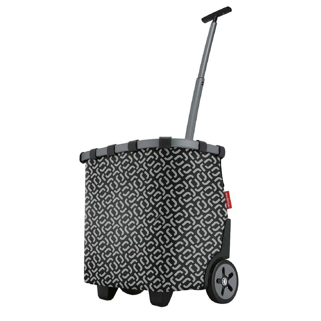 Reisenthel  boodschappentrolley zwart/grijs, Zwart/grijs