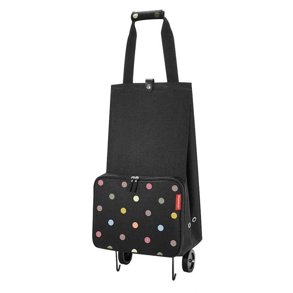 Reisenthel  opvouwbare boodschappentrolley zwart/multi, Multicolor