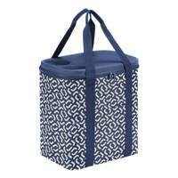 Reisenthel  koeltas Shopping Coolerbag XL blauw/wit, Blauw/wit