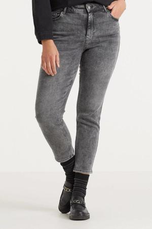 slim fit jeans PCLILI met biologisch katoen grijs