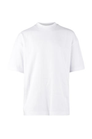 basic T-shirt Heavy voor Boxer wit