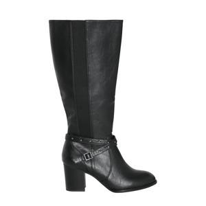 laarzen met siergesp zwart