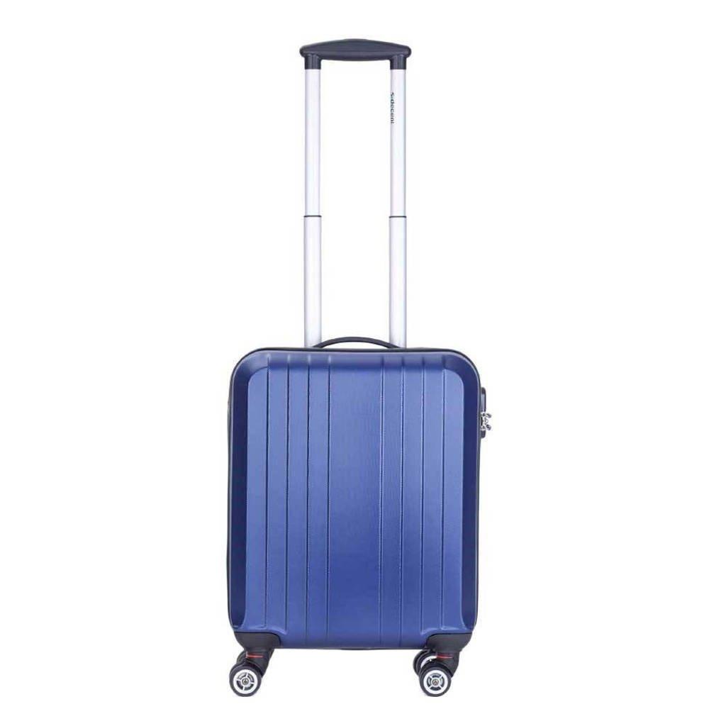 Decent  trolley Tobi Line 55 cm. donkerblauw, Donkerblauw