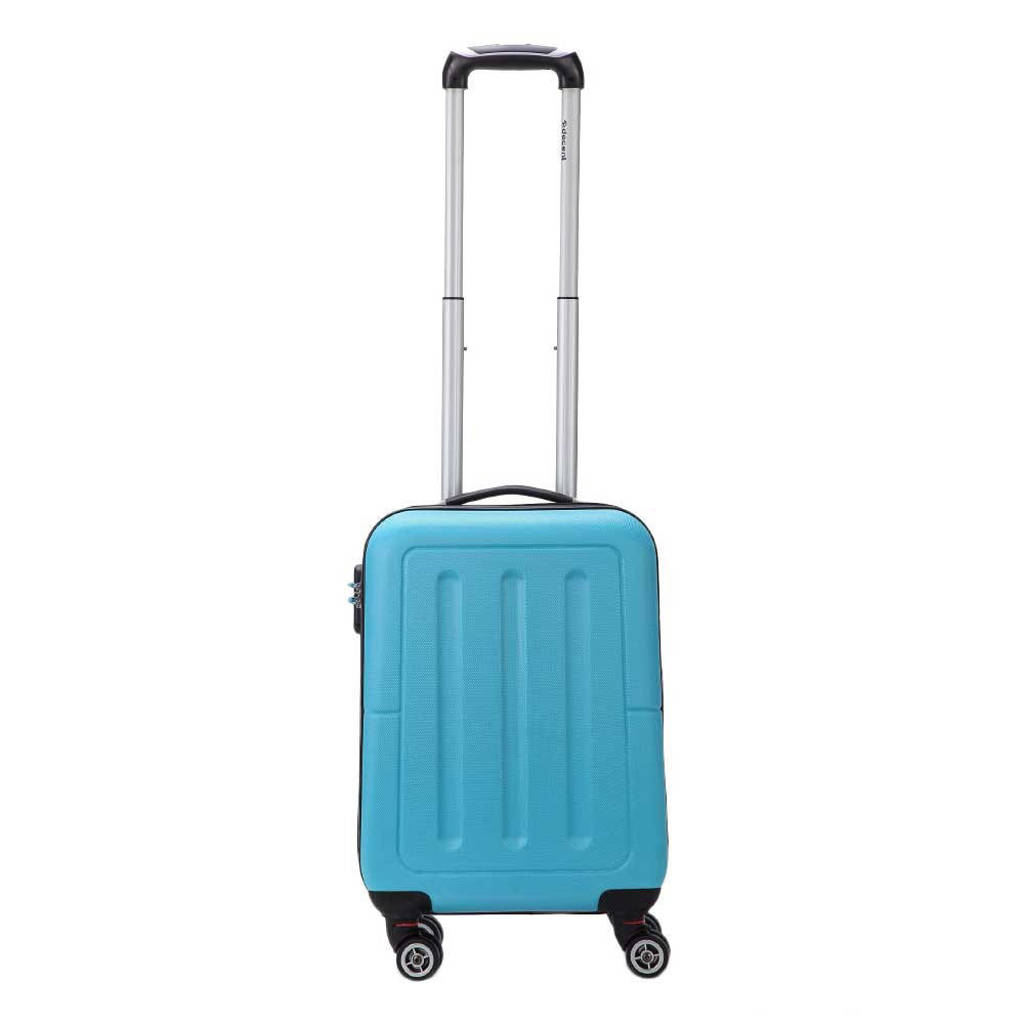 Decent  trolley Neon-Fix 55 cm. blauw, Blauw