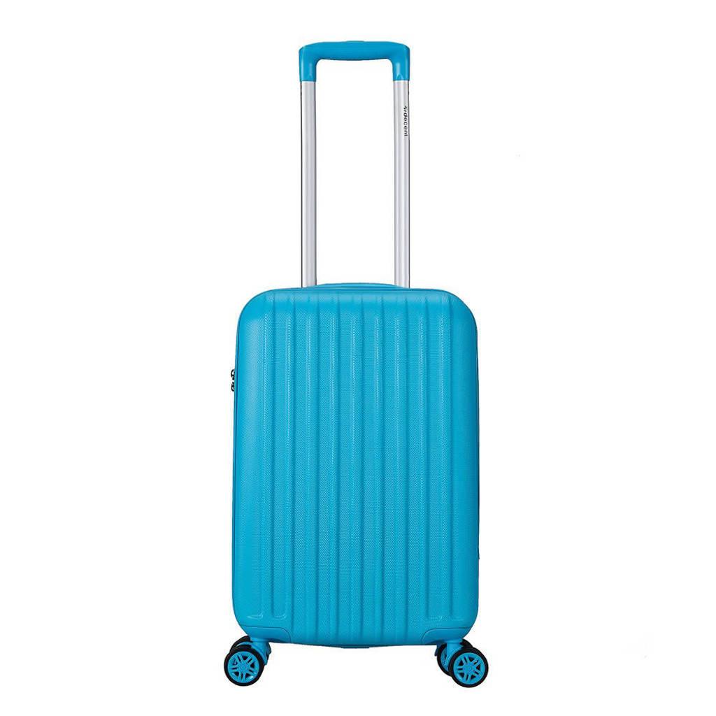 Decent  trolley Tranporto One 55 cm. blauw, Blauw