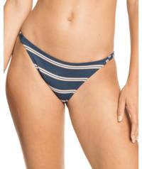 Roxy gestreept bikinibroekje met lurex Moonlight Splash blauw/wit, Blauw/wit