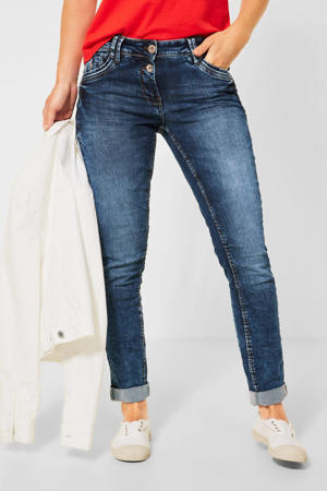 slim fit jeans Scarlett mid blue wash