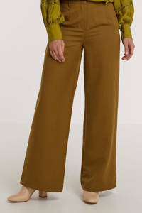 Minimum wide leg broek Lessa bruin, Bruin