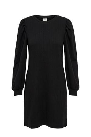 jurk JDYANNY met textuur zwart