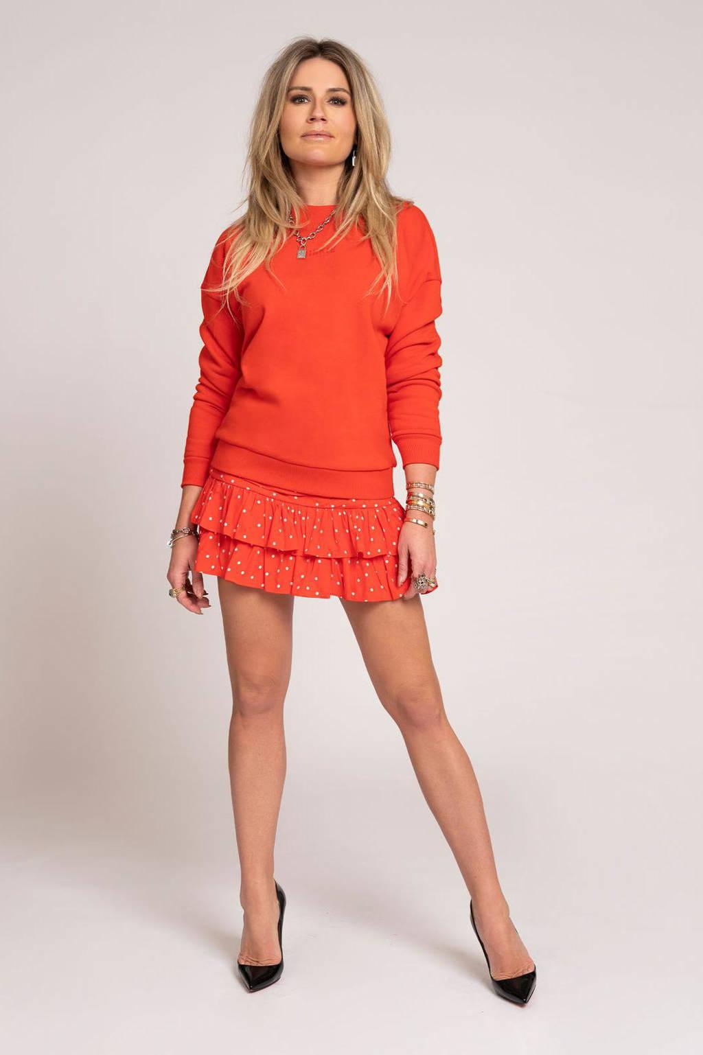 NIKKIE sweater rood, Rood