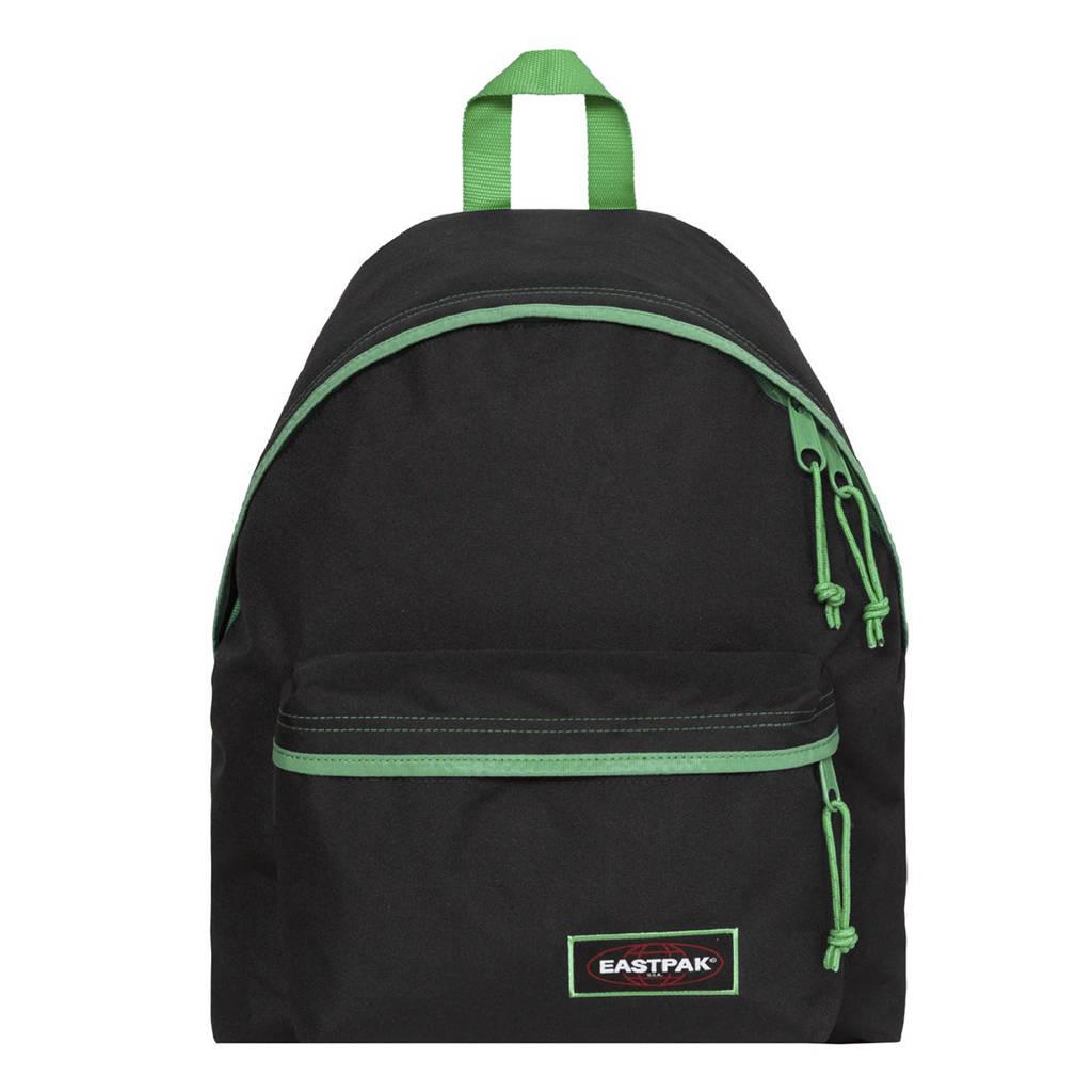 Eastpak  rugzak Padded Pak'r zwart/groen, Zwart/groen