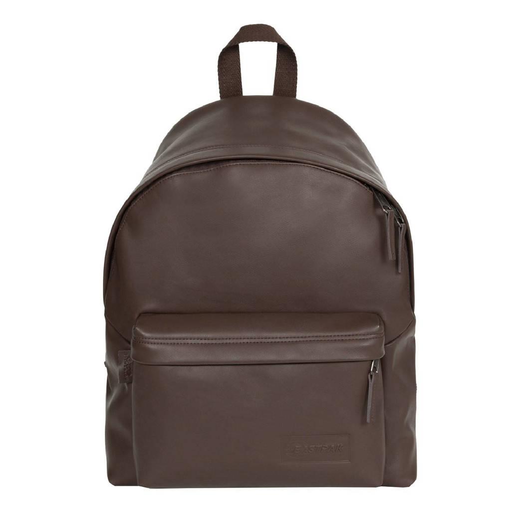 Eastpak  rugzak Padded Pak'r bruin, Brown leather