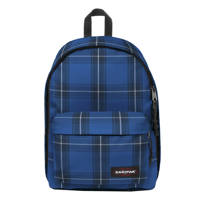 Eastpak  rugzak Out of Office blauw/donkerblauw, Checked blue
