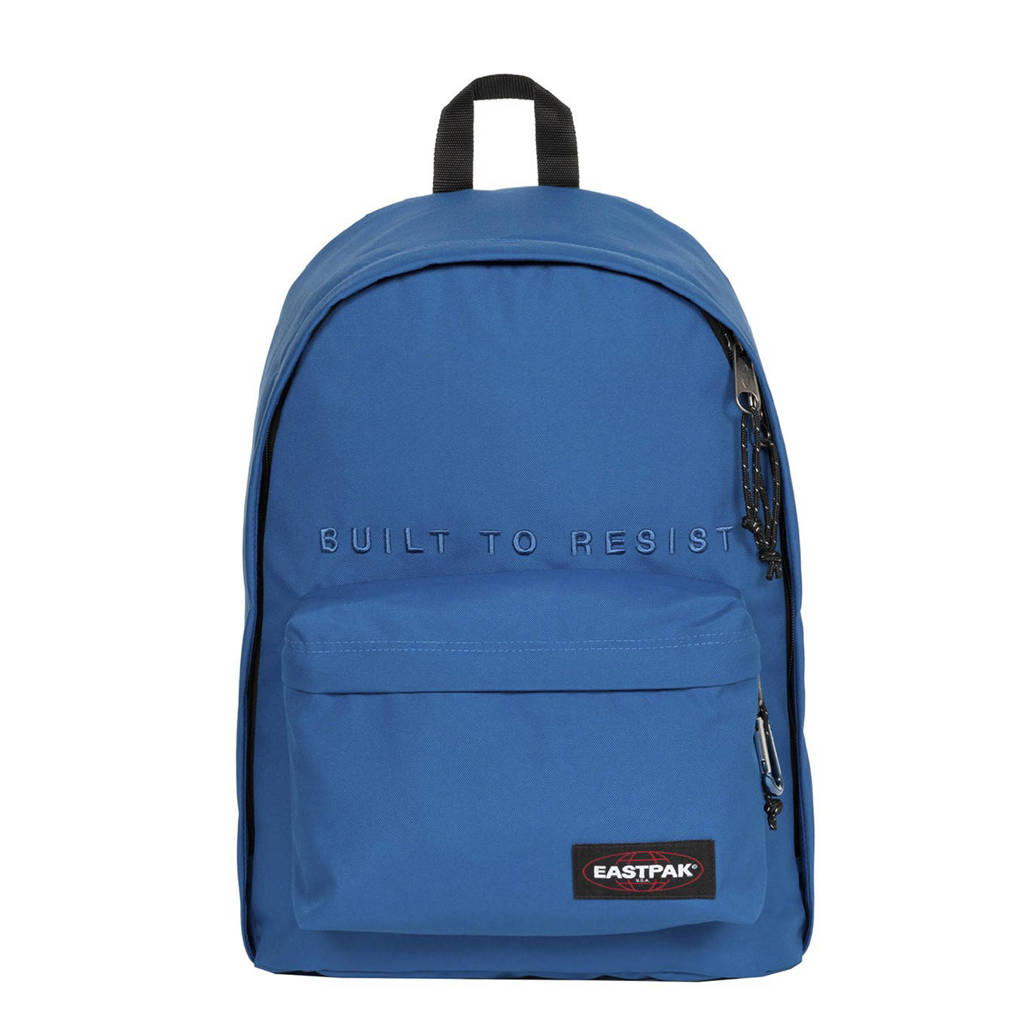 Eastpak  rugzak Out of Office blauw, Mysty embroider