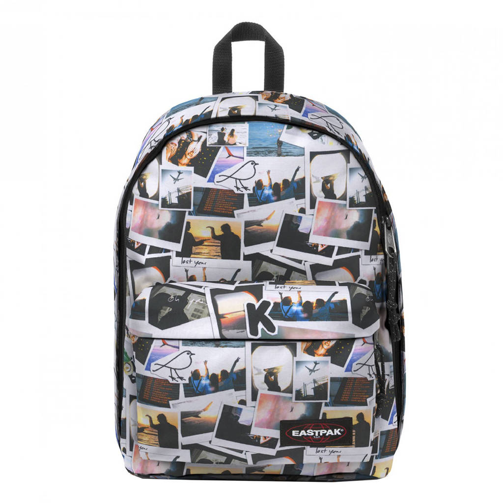 Eastpak  rugzak Out of Office wit/multi, Post horizon