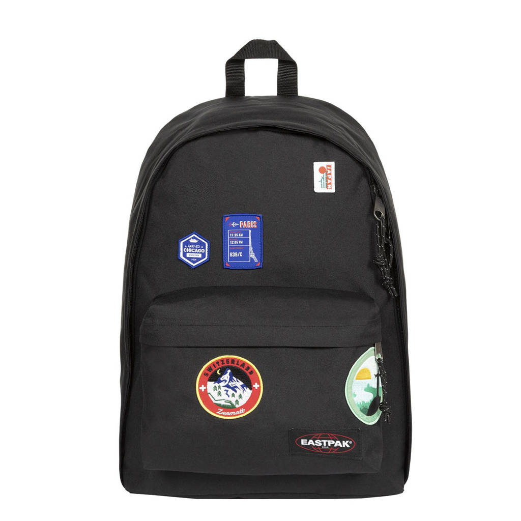 Eastpak  rugzak Out of office zwart, Patched black