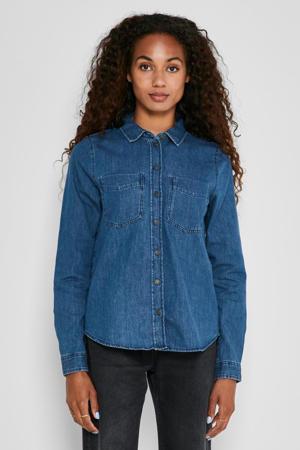 blouse NMDAMLA blauw