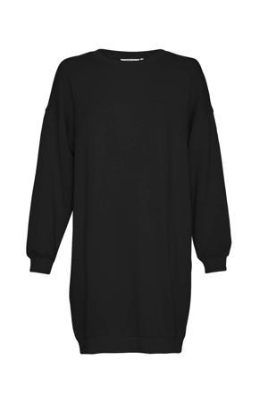 sweatjurk Ima Sweat Dress zwart