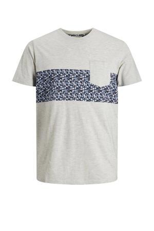 T-shirt Bloom van biologisch katoen wit melange