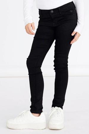 flared jeans NKFPOLLY met biologisch katoen zwart