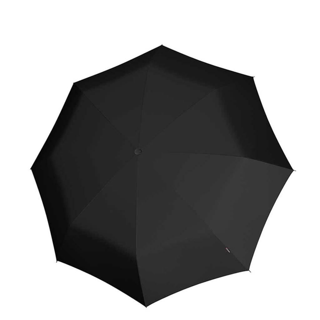 Knirps paraplu T-010 Small Manual zwart, Zwart