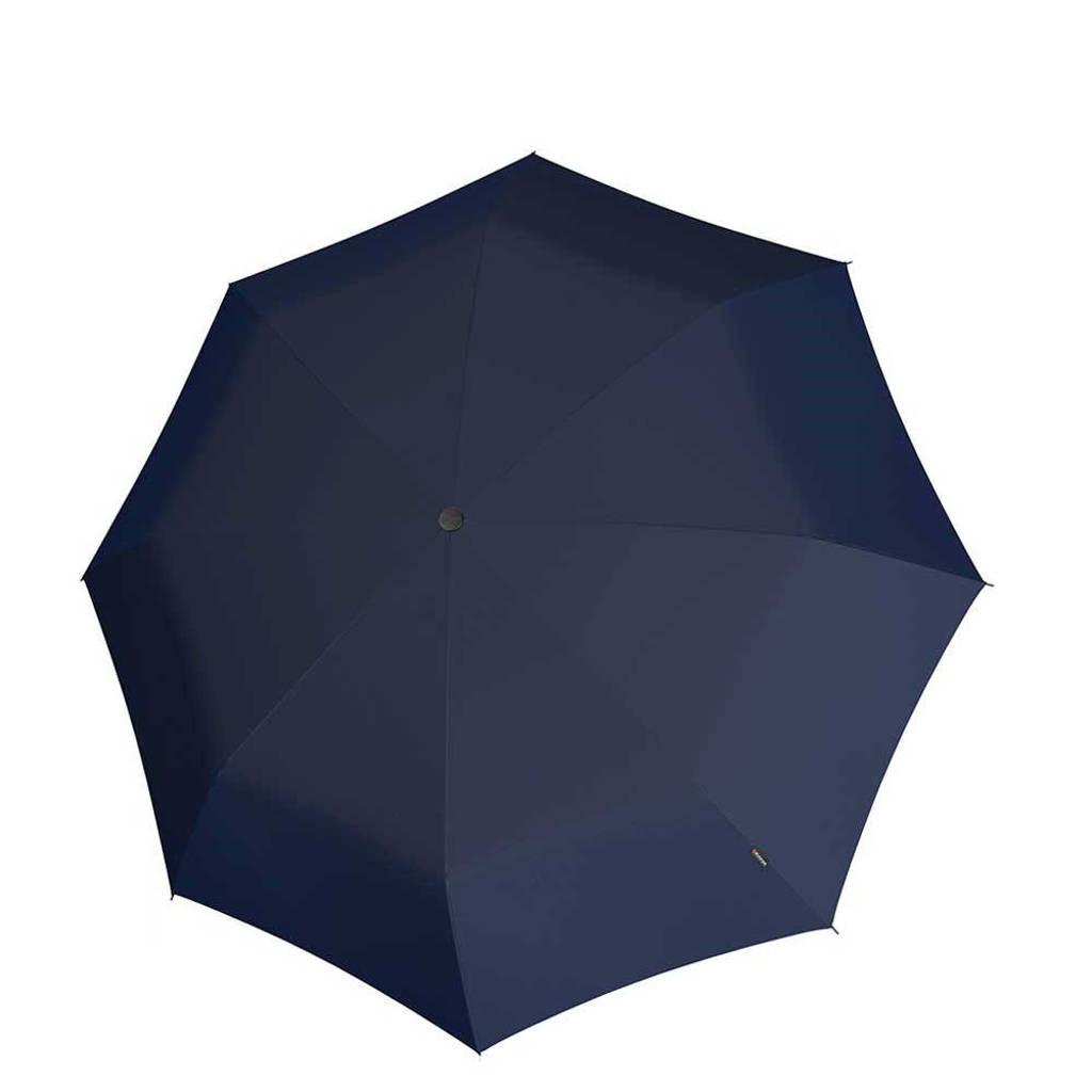 Knirps paraplu T-010 Small Manual donkerblauw, Blauw