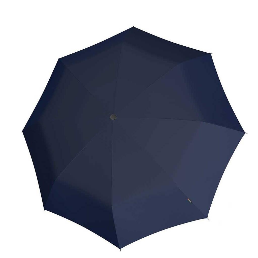 Knirps paraplu T-200 Medium Duomatic donkerblauw, Blauw
