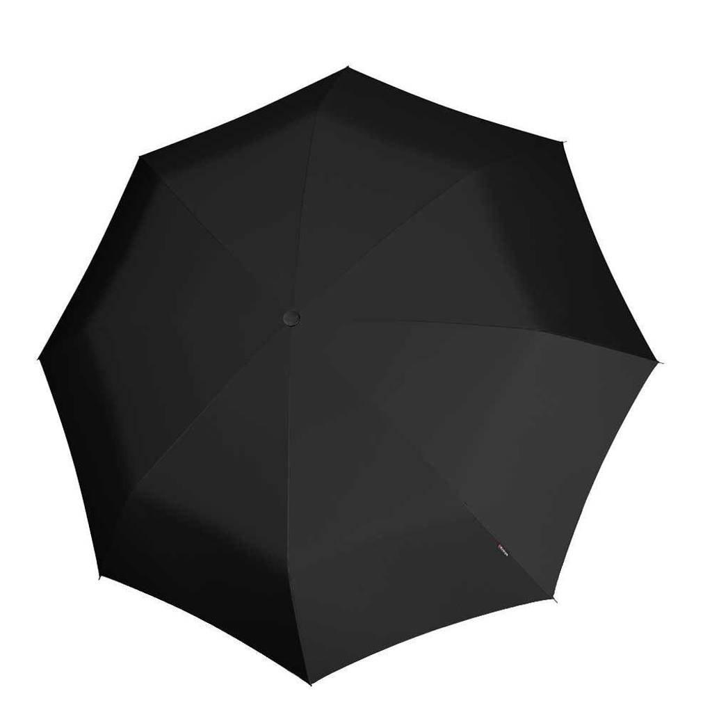 Knirps paraplu T-200 Medium Duomatic zwart, Zwart